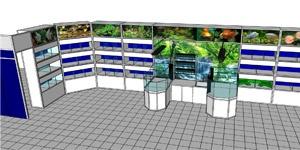 Maquette 3D r�alis�e par notre bureau d'�tudes